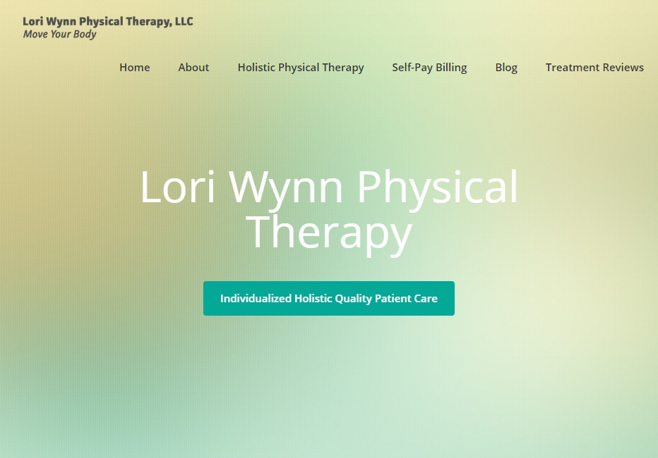 New Website Design: LoriWynnPT.com