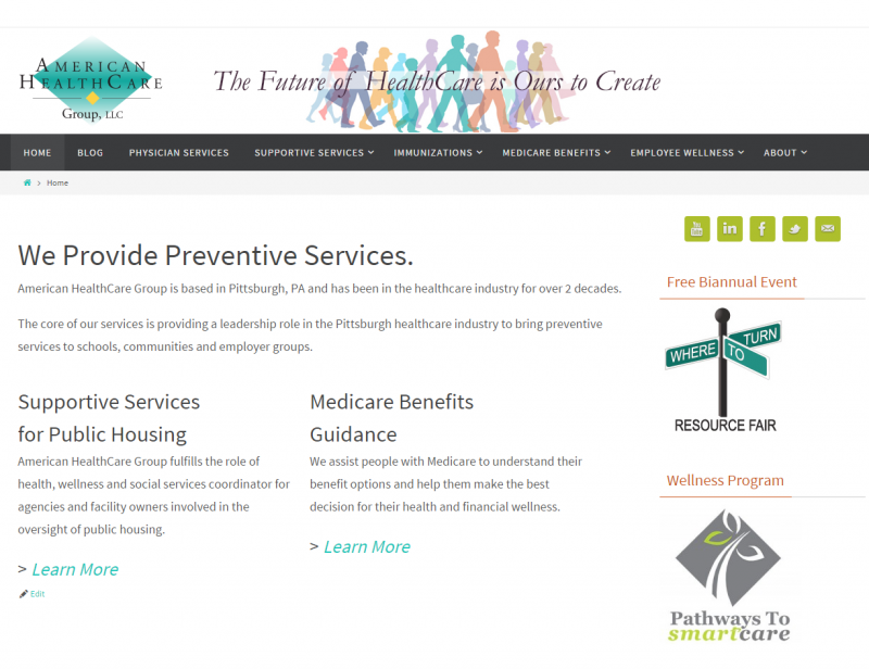 Branding Preventive Services: American HealthCare Group, LLC