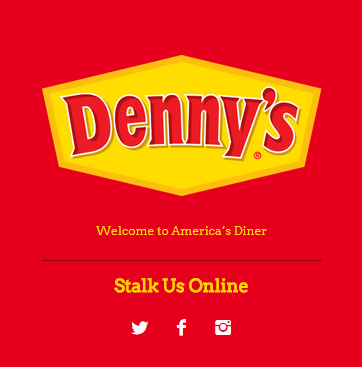 Denny's Tumblr Blog is Killing it!